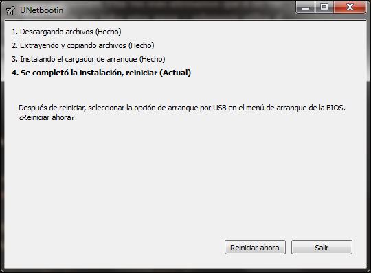 Instalar Debian en una memoria USB