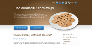 The cookiesDirective.js
