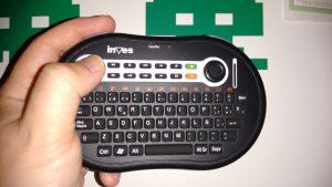 Funciones del Palm Keyboard