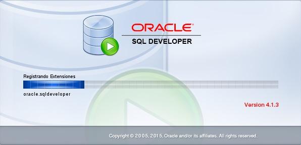 SQL Developer cargando...
