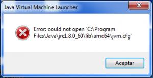Error de la JVM al iniciar Eclipse o Anypoint Studio.
